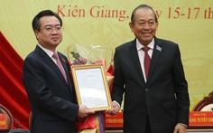 Ông Nguyễn Thanh Nghị chính thức nhận chức thứ trưởng Bộ Xây dựng
