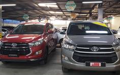 Thị trường xe hơi cũ vất vả 'đấu' với xe mới