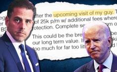 Báo Mỹ khui chuyện làm ăn của cha con Biden tại Trung Quốc