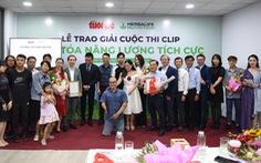 Lễ trao giải Cuộc thi clip Lan tỏa năng lượng tích cực: Cảm xúc với những câu chuyện lan tỏa