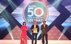 Forbes Việt Nam vinh danh 50 công ty niêm yết tốt nhất 2020