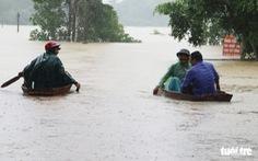 Quảng Bình, Hà Tĩnh mưa rất lớn, 122 người chết, mất tích ở miền Trung