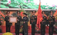 Báo Quân đội nhân dân đón nhận Huân chương Độc lập hạng ba
