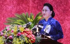 Chủ tịch Quốc hội chỉ ra những khuyết điểm để tỉnh Hòa Bình khắc phục trong nhiệm kỳ tới