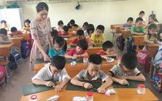 Chương trình lớp 1 mới: Dạy con học như một cuộc chiến