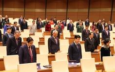 'Quốc hội chia buồn sâu sắc với mất mát của gia đình cán bộ, chiến sĩ, người dân'