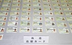 Nhật điều tra đường dây người Trung Quốc làm giả thẻ thường trú cho lao động Việt Nam, Indonesia