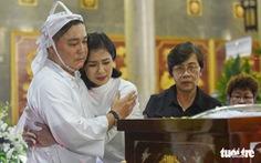 Kim Cương, Giáng My, Việt Trinh nghẹn ngào tiễn đưa nghệ sĩ Lý Huỳnh