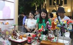 Tuần lễ hàng 'Made in Vietnam - Tinh hoa Việt Nam' khai mạc ở hồ Hoàn Kiếm