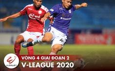 Lịch trực tiếp V-League 24-10: CLB Hà Nội sẽ lên đầu bảng?