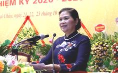 Bà Giàng Páo Mỷ tiếp tục làm bí thư Tỉnh ủy Lai Châu