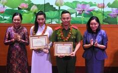 Nguyễn Hoàng Yến, Đặng Phương Nam - hai Đại sứ văn hóa đọc 2020