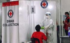 Hội Chữ thập đỏ Philippines ngưng xét nghiệm COVID-19 miễn phí vì chính phủ nợ tiền