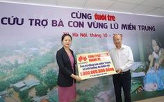 Huawei Việt Nam trao 1 tỉ đồng cùng Tuổi Trẻ cứu trợ người dân vùng lũ miền Trung