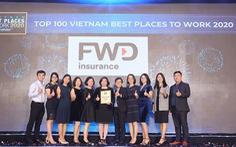 FWD vươn lên top 3 nơi làm việc tốt nhất ngành bảo hiểm Việt Nam