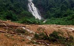 Sạt lở vùi lấp lán trại trong rừng đã 10 ngày, 1 người chết, 3 người mất tích