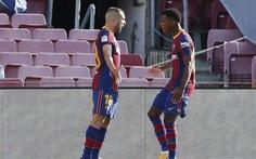 Barca - Real Madrid ( hiệp 1) 1-1: Fati gỡ hòa