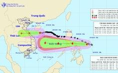 Bão Molave đang di chuyển nhanh vào Biển Đông, có thể mạnh cấp 12-13 khi gần bờ