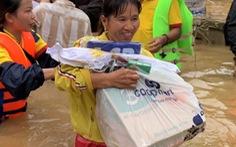 Saigon Co.op nhận đơn hàng tại TP.HCM, giao hàng tận tâm bão Miền Trung