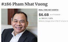 'Câu lạc bộ' tỉ phú đô la Việt Nam tăng thêm 2 người, tài sản thêm hàng tỉ USD