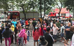 Cháy tại chung cư Linh Đàm, hàng ngàn người hoảng loạn tháo chạy