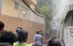 Phát hiện xác một phụ nữ trong nhà 4 tầng cháy ở Phú Nhuận