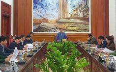 Đại hội Đảng bộ tỉnh Quảng Bình rút ngắn thời gian họp để chống bão