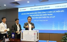 EVNNPC ủng hộ 4,7 tỉ đồng khắc phục hậu quả bão lũ Miền Trung