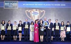 Vinamilk liên tiếp  được bình chọn là nơi làm việc tốt nhất Việt Nam