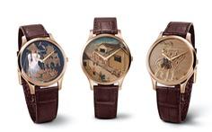 Chopard giới thiệu 3 mẫu đồng hồ sơn mài