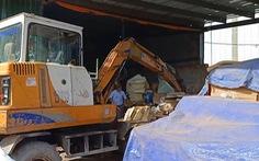 Cưỡng chế, tháo dỡ công trình vi phạm trong cụm công nghiệp Phước Tân