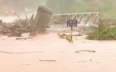 Hoàn lưu bão số 9 gây mưa lớn, lũ ở miền Trung và Tây Nguyên lên nhanh