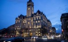 Ông Trump chọn khách sạn của chính mình ở Washington để ăn mừng tái đắc cử?