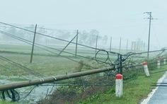 Nhiều tỉnh miền Trung, Tây nguyên cắt điện trên diện rộng, hơn 1,7 triệu hộ mất điện