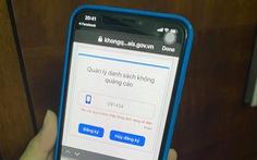 Doanh nghiệp, cá nhân đầu tiên bị xử phạt vì cuộc gọi, tin nhắn rác