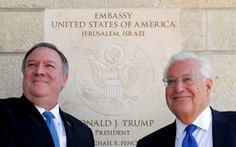 Mỹ cho phép công dân sinh tại Jerusalem ghi Israel là nơi sinh