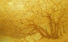 Nguyễn Quốc Huy mất hơn 10 năm mang mây mù, hơi ẩm vào tranh sơn mài