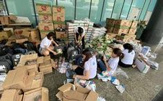 Hơn 1.000 nhân viên Công ty Vịnh Thiên Đường sẻ chia cùng miền Trung