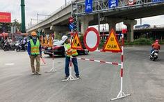 Cấm xe qua cầu vượt Nguyễn Hữu Cảnh 6 tháng để sửa đường