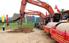 Khởi công đường kết nối, khởi động dự án đường cao tốc Đồng Đăng - Trà Lĩnh