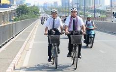 Đề xuất 43 trạm xe đạp công cộng ở trung tâm TP.HCM