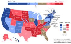 Hai ông Trump và Biden sẽ 'quyết chiến' ở các bang nào?