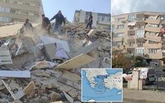 Động đất mạnh kéo sập nhà cửa, đưa cá từ biển lên đường phố Thổ Nhĩ Kỳ