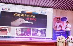Cần Thơ địa phương đầu tiên của Việt Nam có trang web tự xét nghiệm HIV tại nhà