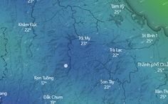 Mưa tiếp tục ở Nam Trà My, Thừa Thiên Huế đến Quảng Ngãi mưa lớn