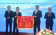 Hướng về đồng bào miền Trung trong lễ kỷ niệm 40 năm thành lập bệnh viện
