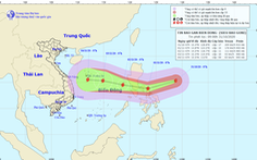 Siêu bão Goni mạnh cấp 17 đang hướng vào Biển Đông