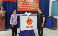 Hơn 80% cử tri đồng ý sáp nhập ba quận 2, 9 và Thủ Đức