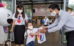 Đoàn khách du lịch đầu tiên trở lại Đà Nẵng được nâng phòng 3 sao lên 4 sao