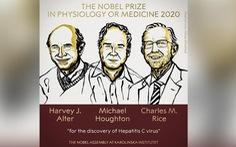 Nobel y sinh 2020 vinh danh khám phá về virus viêm gan C